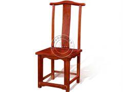 老榆木平头官帽椅子