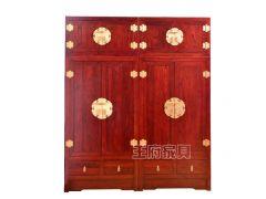 北京中式老榆木家具衣柜批发