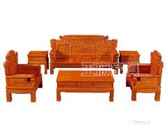 北京仿古老榆木家具沙发定制