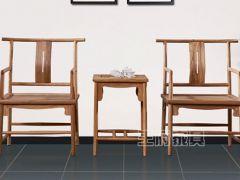 新中式客厅官帽椅子