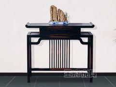 中式实木客厅玄关桌