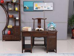 老榆木中式古典电脑桌