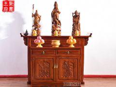 双层供佛龛的供桌条案