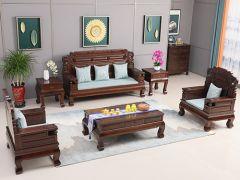老榆木国宝二代沙发