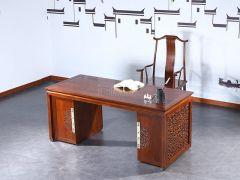 老榆木新中式书桌