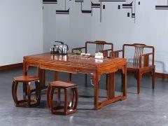 老榆木新中式茶台