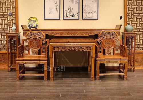 选择老榆木新中式家具 体现您高雅的审美观